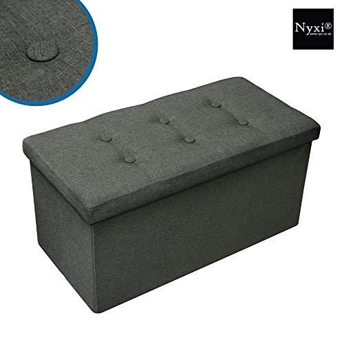 Nyxi Ottoman Foldable Storage Bo...