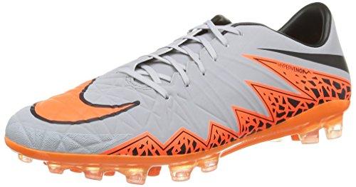 Nike Herren, Hypervenom Phatal ii ag-r, Mehrfarbig (Wolf Grey/total orange-blk-blk), 42