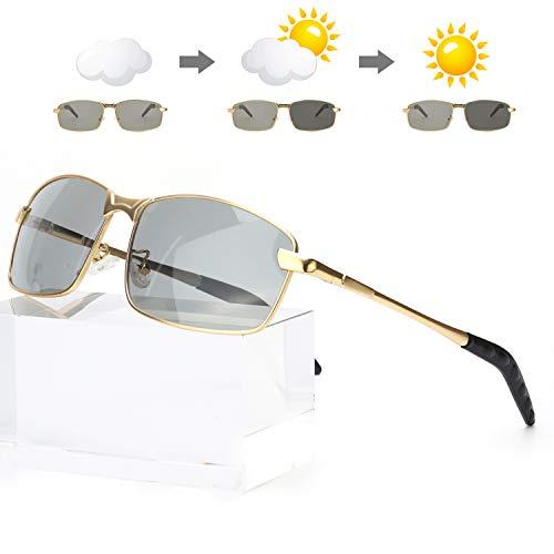 Enafad HD Gafas Conduccion Nocturna de Noche Polarizadas de gran tamaño Gafas de para mujer 100% Protección UVA UVB