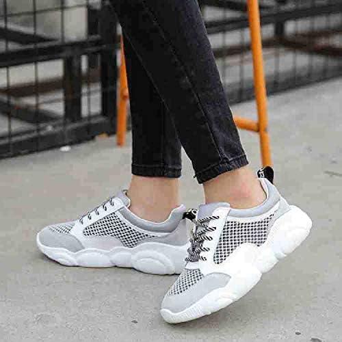 HOESCZS Plateforme De Mode en Cuir pour Le Printemps Féminin Chaussures De Sport étudiantes Polyvalentes Chaussures pour Femmes
