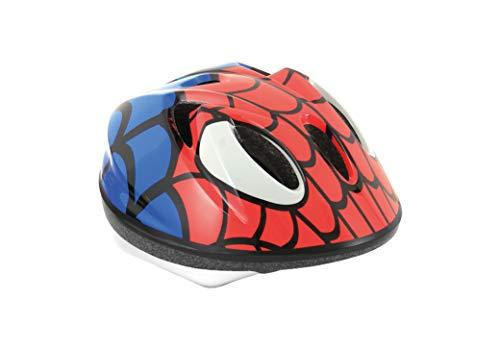 Massi Spiderman Casco, Niños, Azul, XS