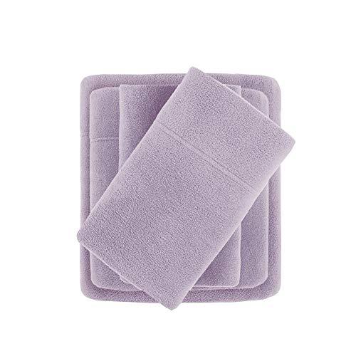 Full Micro Fleece Sheet Set Lavender
