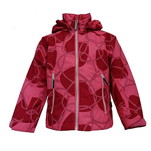 Outburst - Mädchen Funktionsjacke Regenjacke Übergangsjacke wasserdicht 10.000 Wassersäule, Winddicht, atmungsaktiv, pink - 6824617 - Größe 110