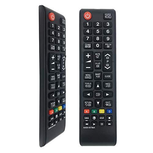 Mando a Distancia AA59-00786A Reemplazo Compatible para Samsung 3D / Smart TV/Fútbol/LCD/LED,...