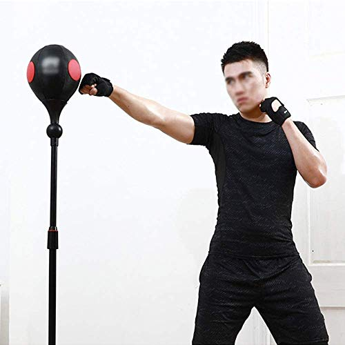 Speed Bokszak Boxing Bag - Punchbag Reactie Balls met APP Bluetooth-verbinding - Vrijstaand Punch Boxing Bag - Hoogte verstelbaar Easy Setup,A