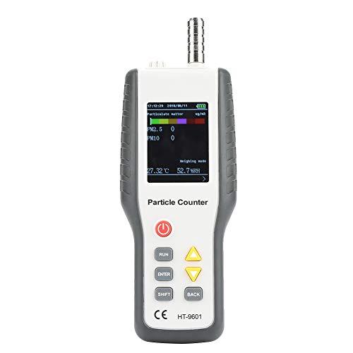 HT-9600 Misuratore Della Qualità dell\'aria,Monitoraggio Della Qualità dell\'aria Interna,Misura di Supporto PM2,5, PM10, Conteggio delle Particelle di Polvere,alta Precisione di Misura