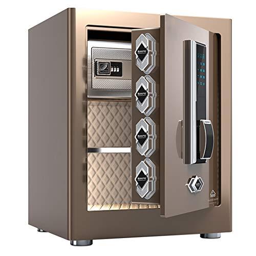 ZLSANVD Seguridad Digital Caja Cajas Fuertes electrónicas de Acero Ocultos de construcción con el Bloqueo Proteja joyería Dinero en Efectivo pasaportes Seguro for Negocio en casa