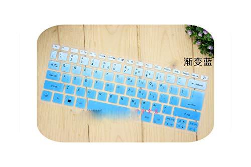 F-pump Funda protectora de silicona para teclado Acer Swift 3 Sf314-52 Sf314-54 / Swift 1 Sf114-32 14 pulgadas I5 8250U Notebook-Gradientblue-