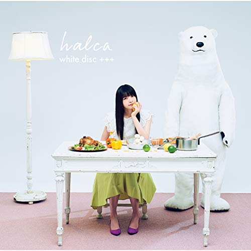 [Album]white disc +++ – halca[FLAC + MP3]