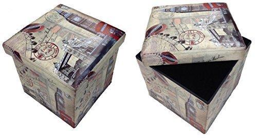 GMMH Taburete Londres Puente Original Box Caja Asiento
