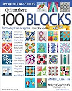 quiltmaker magazine 100 blocks
