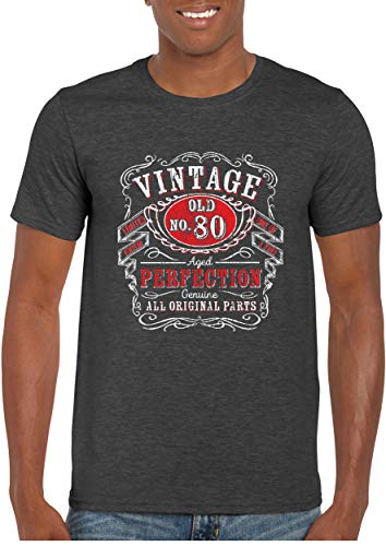 Aged to Perfection 80th Birthday T Shirt for Men