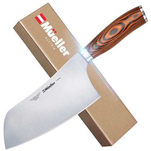 Mueller 7-inch Cleaver Knife, Vegetable Meat Chinese...