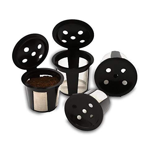 Keurig Supreme wiederverwendbare K-Tassen für Keurig K Supreme Plus Filterkaffeemaschinen von Delibru, 4 Stück