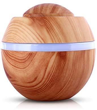 MO-UK Mini-USB-Aroma-LED-Luftbefeuchter, Ultraschall-Luftbefeuchter für Büro, Baby, Zuhause, Schlafzimmer, Wohnzimmer, Yoga, Spa