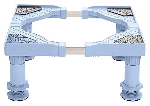 TabloKanvas Base de lavadora a prueba de humedad Soporte de estante de refrigerador ajustable vertical aire acondicionado pedestales (color: 17 – 20 cm   4patas)