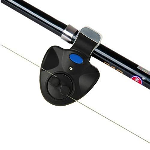 45532rr Angeln Alarm Kreative Sensitive Angeln Alarm elektronische LED-Licht-Fisch-Biss Ton Alarmglocke Klipp auf Rod-Werkzeug Angeln