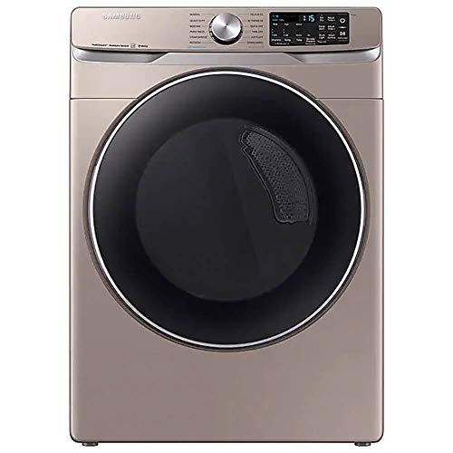 Samsung DVE45R6300C 7.5 Cu. Ft. Champagne Smart Electric Front Load Dryer with Steam Sanitize+