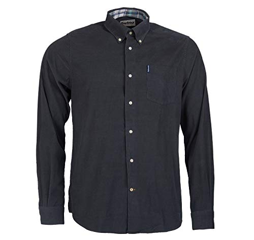 Barbour Cord 1 Tailored Shirt grau Gr. S, anthrazit