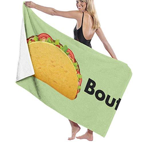 chillChur-DD Bath Towel Lassen Sie 'S Eat It Handtuch Wickelbad Womens Spa Dusche und...