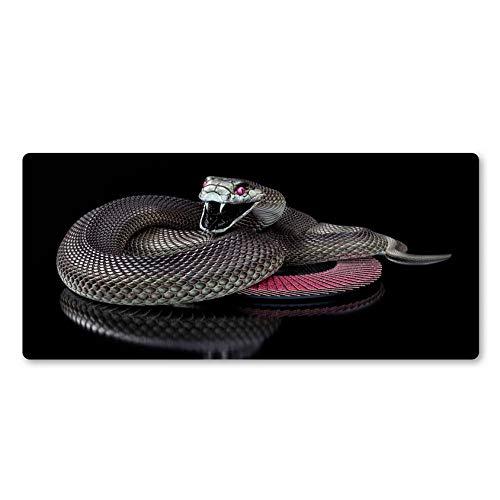 Super nette Schlange-Mausunterlage-Spiel-Zusätze Berufscomputertastatur-Mäuseschreibtisch-Matten Weihnachtsgeschenke 80 * 30cm
