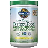 Garden of Life Raw Organic Perfect Food Green Superfood Juiced Greens Powder Original Stevi Free, Non-GMO, Gluten Free, Dietary Supplement, 60 Servings, 14.6 oz