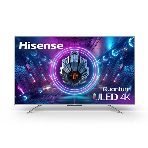 Hisense ULED Premium 75-Inch U7G Quantum Dot QLED Series Android 4K Smart TV with Alexa Compatibility (75U7G)