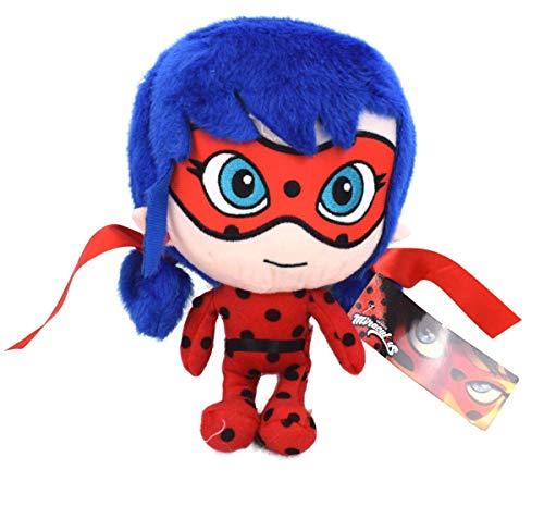 ZAG Miraculous Ladybug Plüschfigur Plüsch Kuscheltier Puppe Stofftier Teddy 24cm