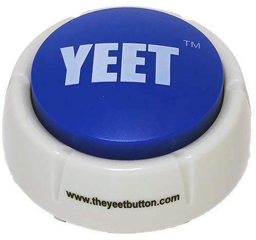 THE YEET BUTTON Toy - A Real Life Yeet Blue Button Meme