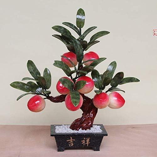 Ochoos Jade Now Ranking TOP19 on sale Bonsai Ornaments 8 Large Tree Home F Peach