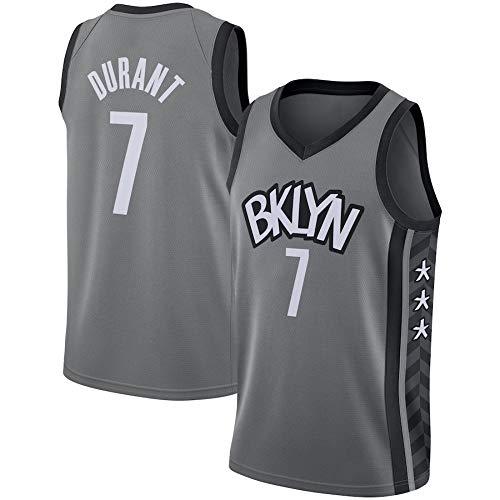 BPZ Camisetas De La NBA para Hombre - Brooklyn Nets 7# Kevin Durant Camiseta De Baloncesto De La NBA-Camiseta Deportiva De Baloncesto Sin Mangas Transpirable De Ocio,1,S (165~170CM / 50~65KG)