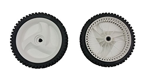 SoB Pack of 2 x 532403111 Mower Front Drive Wheels for Craftsman, POULAN, Husqvarna, Sears WEEDEATER SELF-PROPELLED