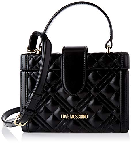 Love MoschinoBORSA QUILTED NAPPA PU NEROMujernegroNormale