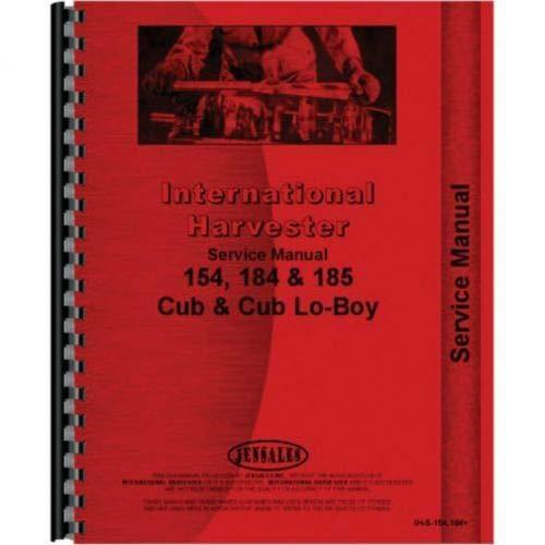 Heavy Equipment Manuals & Books Cub LoBoy International Technical ...