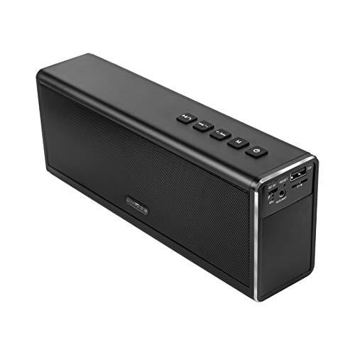 HIOD Altavoz Bluetooth Inalámbrico Radio Alcance Bluetooth 33 Pies Bajo Pesado Estéreo Ultraportátil Ponente para Familia Al Aire Libre Viajar