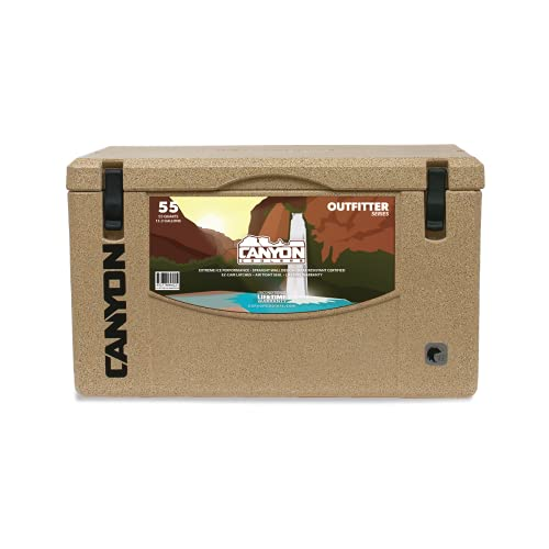 Canyon Coolers Outfitter 55 Rotomolded Cooler Sandstone