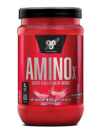 BSN Nutrition Amino X Muscle Building Support Powder Supplement with Vitamin D, Vitamin B6 and Amino Acids, Watermelon, 435 g, 30 Servings