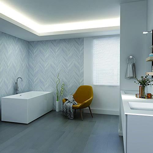 White Modern Square Freestanding Soaker Tub