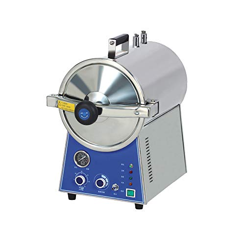 WEST TUNE 24L High Pressure Stainless Steel Lab Table Top Steam Disinfector Autoclave