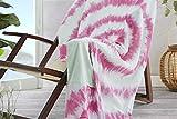 Burrito Blanco Pareo para Playa 196 | Toalla Pareo con Diseño Estampado de Tai Dai...