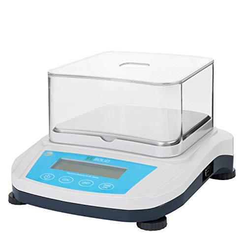 U.S. Solid Balanza de Precision Pesaje de Laboratorio RS232 Interface (3000g, 0,01g)