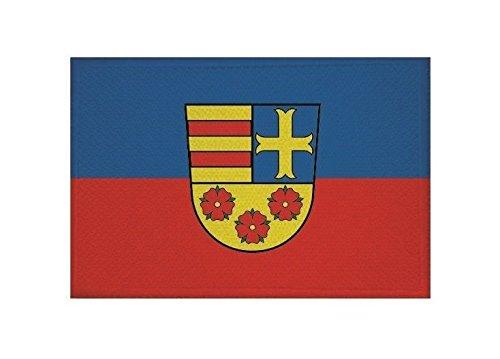 U24 Aufnäher Landkreis Oldenburg Fahne Flagge Aufbügler Patch 9 x 6 cm