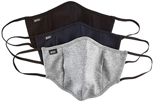BOSS Unisex Mask Triple X-M Mund-und Nasenschutzmaske, Open Miscellaneous960, L