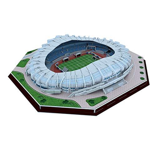 Kw-tool Estadio 3D Puzzle Stadium, Real Sociedad 3D Puzzle Stadium anoeta Regalos de cumpleaños Modelo de Recuerdo Que los niños adoran