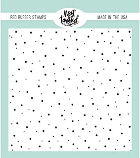 Neat & Tangled Rubber Stamp - BG Delicate Dots