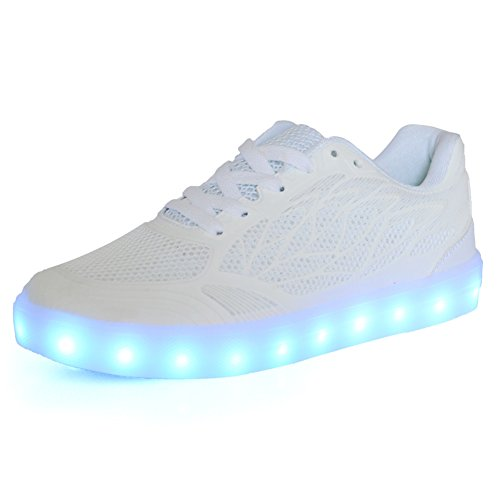 ON LED Schuhe USB Aufladen Leuchtend Sport Schuhe Sneakers Leichtbau brillant Stil Schuhe für Damen Mädchen