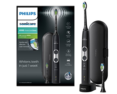 Philips Sonicare ProtectiveClean Electric Toothbrush, Black