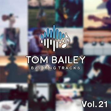 Tom Bailey Backing Tracks Collection, Vol. 21