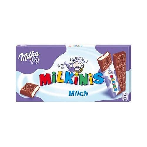Barritas De Chocolate Milka Milkinis 87,5g