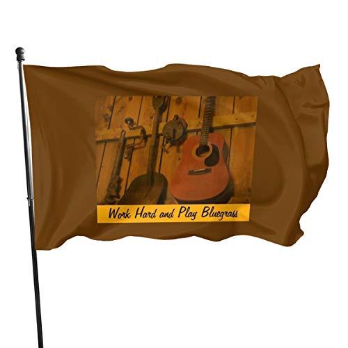 N/D Bluegrass Gitarren-Werkzeug-Set, Flaggen, Banner